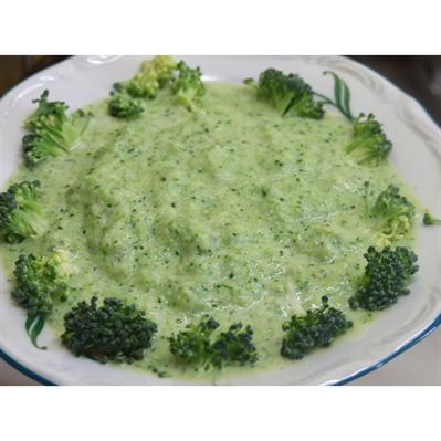 Brokuły z żółtkiem
