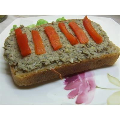 Pasta z soczewicy zielonej