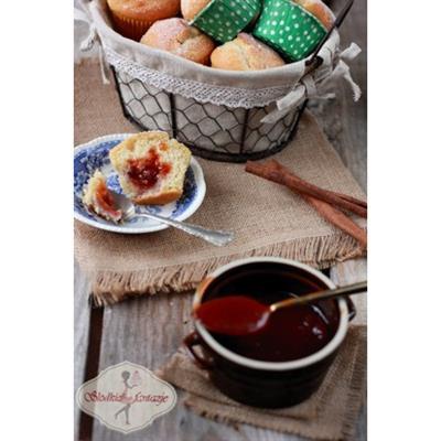 Muffinki a'la pączki